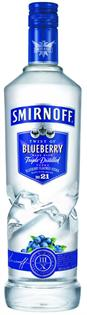 Smirnoff Vodka Blueberry 1.00l
